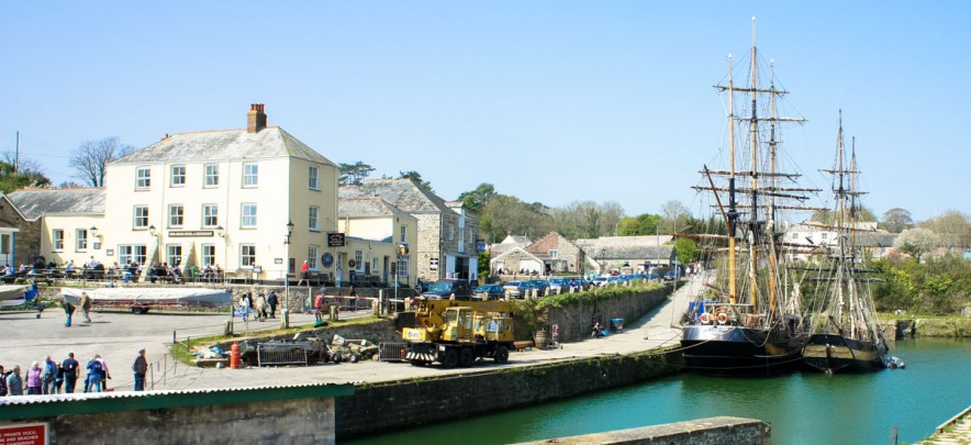 Charlestown in Cornwall
