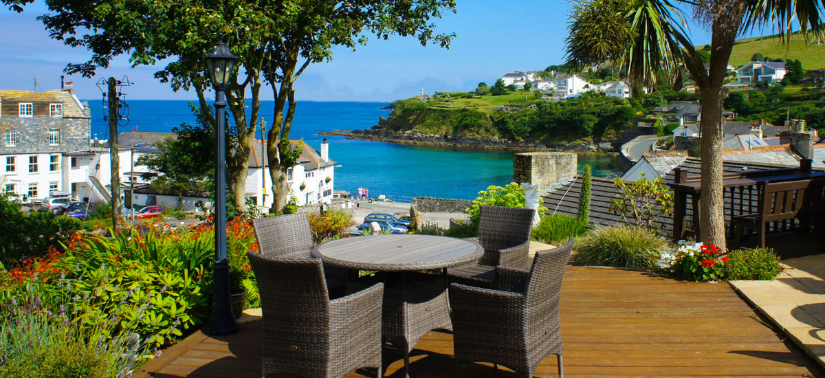 Bed and breakfast in Cornwall at Portmellon Cove